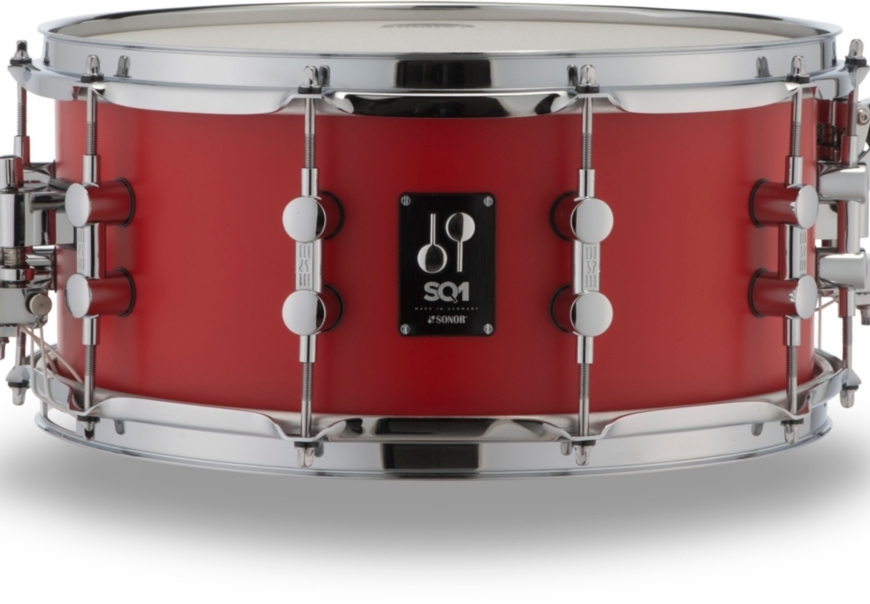 sonor-sq1-snare red